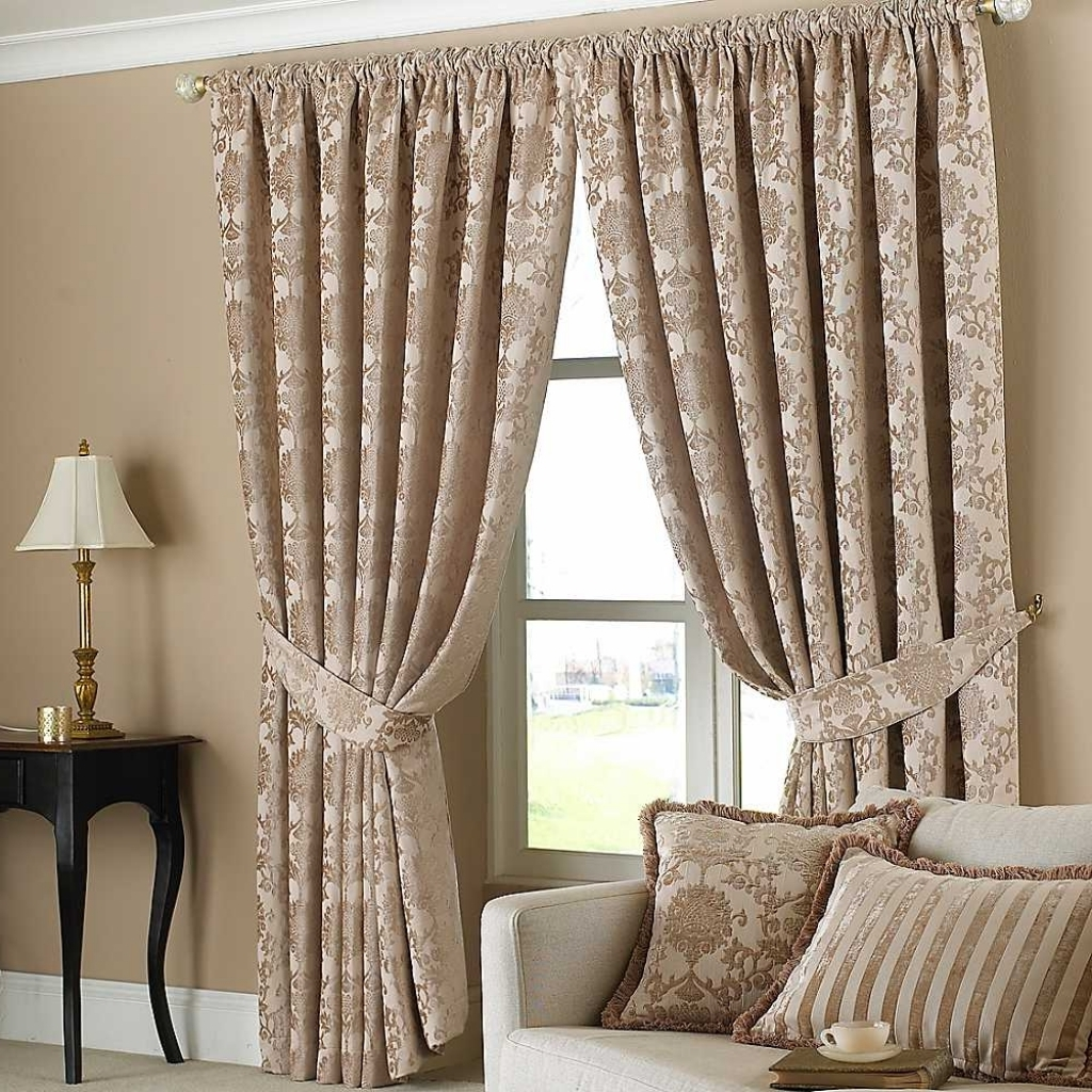 Curtains Brown