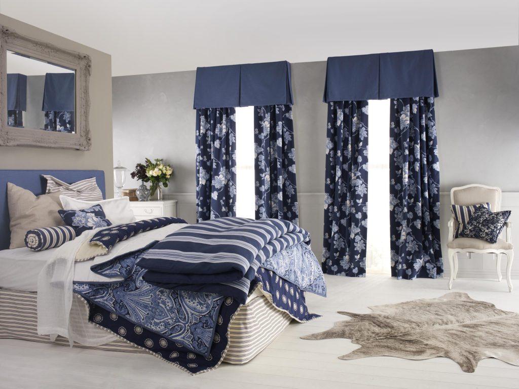 Curtains Blue
