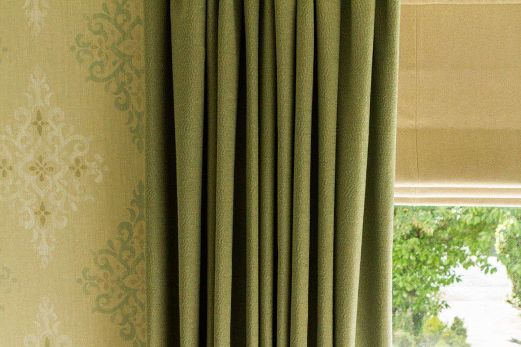 Curtains Olive